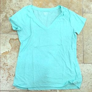 Greenish blue mossimo t shirt great condition